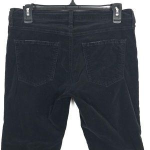 Current/Elliott Jeans - CURRENT ELLIOT BLACK VELOUR MID RISE SKINNY JEANS